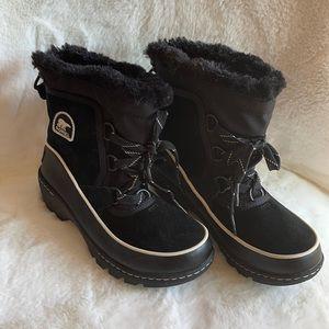 NWOT Sorel suede upper winter boots size 2